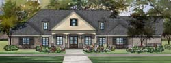 Southern Style Floor Plans Plan: 47-358