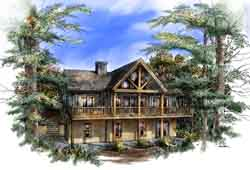 Contemporary Style House Plans Plan: 48-101