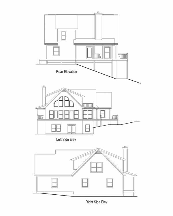 Rear Elevation Plan: 48-117