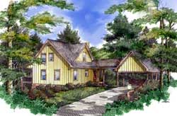 Country Style House Plans Plan: 48-118