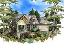 Traditional Style House Plans Plan: 48-119