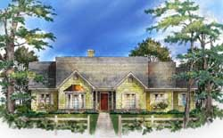 Southern Style House Plans Plan: 48-121