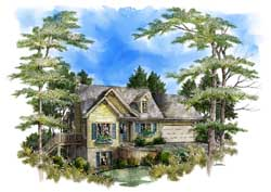 Southern Style Floor Plans Plan: 48-123