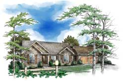 Traditional Style House Plans Plan: 48-124