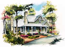 Country Style Floor Plans Plan: 48-125