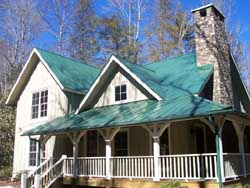 Country Style Home Design Plan: 48-131