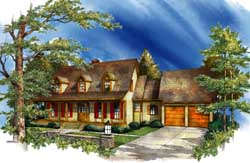 Country Style House Plans Plan: 48-139