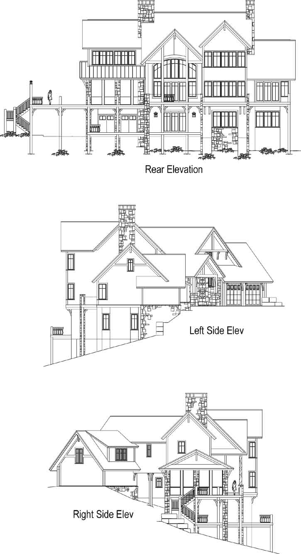 Rear Elevation Plan: 48-142