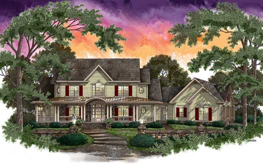 Southern Style Floor Plans Plan: 48-143