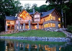 Mountain-or-Rustic Style Floor Plans Plan: 48-145