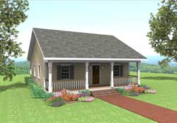 Country Style Floor Plans Plan: 49-103