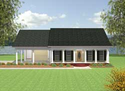 Southern Style House Plans Plan: 49-106