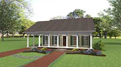 Southern Style Floor Plans Plan: 49-107