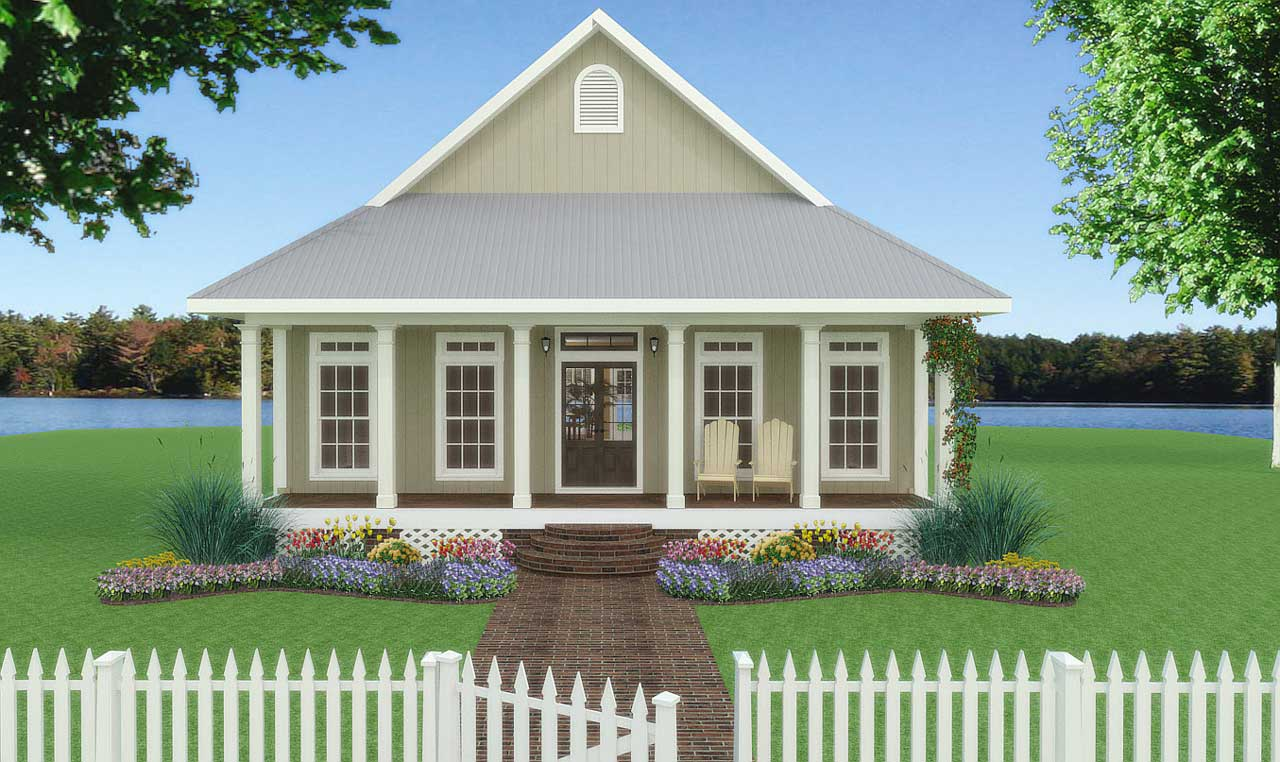 Country Style House Plans Plan: 49-109