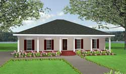 Southern Style Floor Plans 49-118