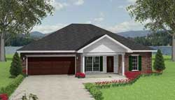 Traditional Style Floor Plans 49-120
