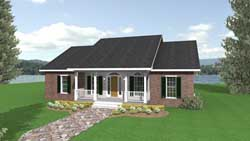 Country Style Floor Plans 49-129