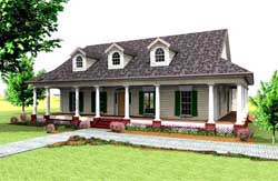 Southern Style Floor Plans Plan: 49-148