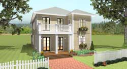 Southern Style House Plans Plan: 49-165