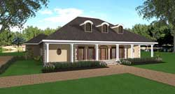 Southern Style House Plans 49-169