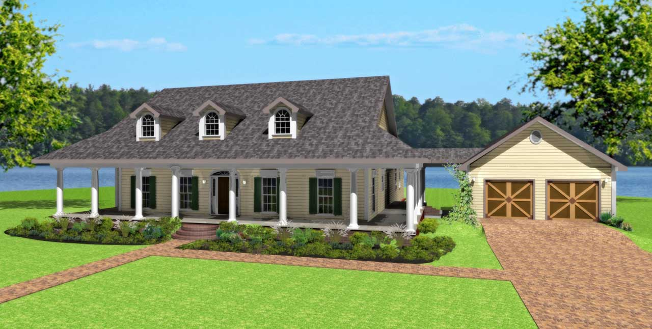 Southern Style House Plans Plan: 49-170