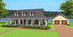 Southern Style Floor Plans Plan: 49-170