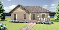 Craftsman Style House Plans Plan: 49-182