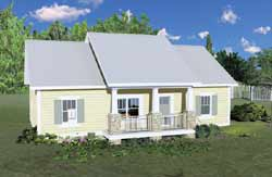 Country Style House Plans Plan: 49-196