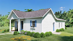 Traditional Style House Plans Plan: 49-197