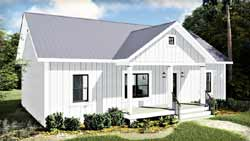 Country Style Floor Plans 49-200