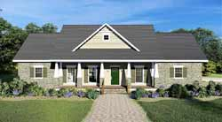 Craftsman Style House Plans Plan: 49-201