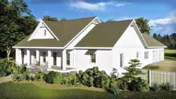 Modern-Farmhouse Style Floor Plans Plan: 49-202