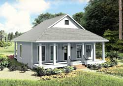 Country Style Floor Plans Plan: 49-205
