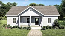 Country Style Floor Plans 49-207