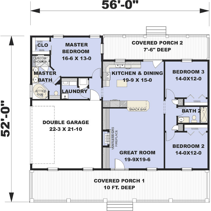Main Floor Plan: 49-208