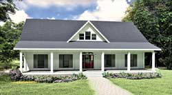 Country Style Floor Plans 49-208