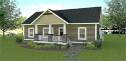 Country Style Floor Plans 49-212