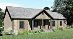 Country Style Floor Plans 49-213