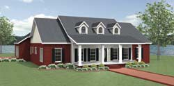 Southern Style Floor Plans Plan: 49-216