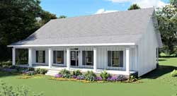 Country Style Floor Plans 49-218