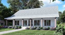 Country Style House Plans 49-220