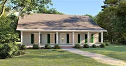Country Style House Plans 49-222