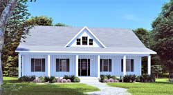 Country Style Home Design 49-223