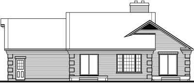Rear Elevation Plan: 5-101
