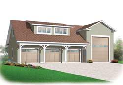Bungalow Style House Plans Plan: 5-1017