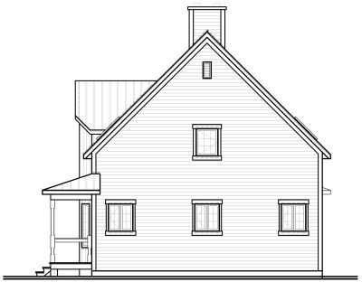 Rear Elevation Plan: 5-102