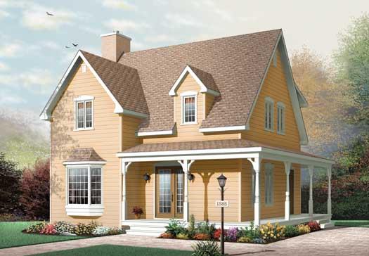 Farm Style House Plans Plan: 5-103