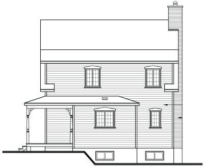 Rear Elevation Plan: 5-103