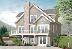 Traditional Style Floor Plans Plan: 5-1042