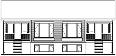 Rear Elevation Plan: 5-106